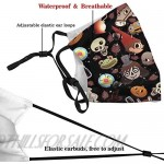 Over The Garden Wall Pattern Mask Adults Breathing Reusable Adjustable Earloop Mouth Cover
